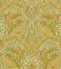 Waverly Print Fabric-Swept Away/Sorrel