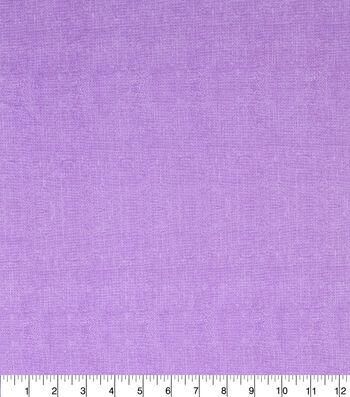 Keepsake Calico™ Burlap Texture Cotton Fabric 43''-Purple