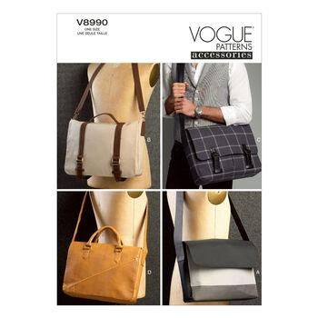 Vogue Patterns Crafts Totes & Bags-V8990