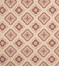 Home Decor 8\u0022x8\u0022 Fabric Swatch-Jaclyn Smith Irvington Crimson