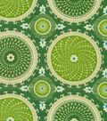 Home Decor 8\u0022x8\u0022 Fabric Swatch-Waverly Bohemian Swirl Jade