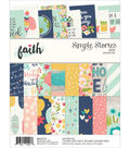 Simple Stories Double-Sided Paper Pad 6\u0022X8\u0022-Faith