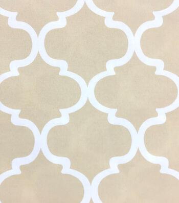 Outdoor Fabric-Quatrafoil Tan