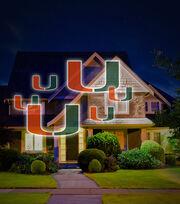 University of Miami Hurricanes Team Pride Light, , hi-res