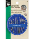 Craft Needle Compact-Assorted 25/Pkg