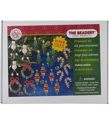 New Trad -beaded Ornament Kit