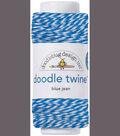 Doodle Twine Singles 20yds-Blue Jean