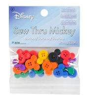 Dress It Up Licensed Embellishments-Sew Thru Mickey, , hi-res