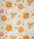 Home Decor 8\u0022x8\u0022 Fabric Swatch-Eaton Square Flowerama Gold Floral