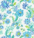 Home Decor 8\u0022x8\u0022 Fabric Swatch-Laurette Design Diver\u0027s Paradise Bliss
