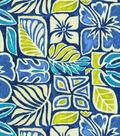 Tommy Bahama Lightweight Decor Fabric-Sun Blocks/Riptide