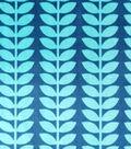 Soft N Comfy Fabric Navy Vine