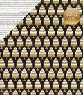 Wedding Bliss Foiled Cardstock 12\u0022X12\u0022-Eat Cake