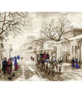 Old Street Counted Cross Stitch Kit 14 Count
