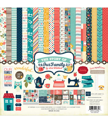 Echo Park Paper Company™ The Story Of Our Family Collection Kit
