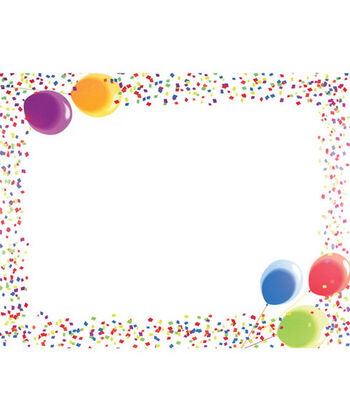 """22""""x28"""" Posterboard-10PK/Let's Party"""