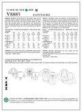 Vogue Patterns Misses Jacket-V8885