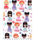 Snuggle Flannel Print Fabric 42\u0022-Pretty Pretty Princess