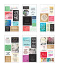 Me & My Big Ideas Pocket Pages Clear Stickers 6 Sheets/Pkg-Love Yourself