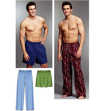 Kwik Sew Mens Sleep & Lounge-K3793