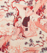 "Alexander Henry Cotton Fabric 44""-Four Seasons Red, , hi-res"