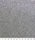 Casa Embellish Knit Fabric 58\u0022-Metallic Black/Silver