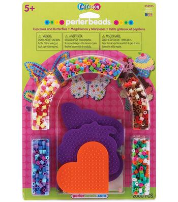Perler Fuse Bead Activity Kit-Cupcakes & Butterflies