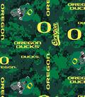 University of Oregon Ducks Fleece Fabric 60\u0022-Digital