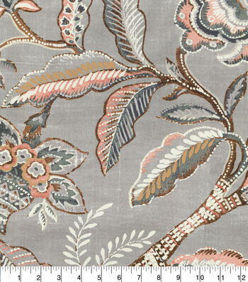"Waverly Designer Upholstery Fabric 54""-Key of Life Blush"