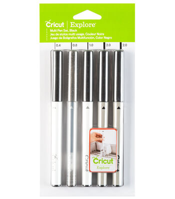 Cricut® Explore Variety Pen Set Black