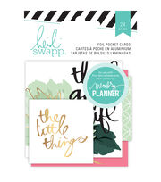 Heidi Swapp Hello Beautiful Foil Pocket Cards, , hi-res