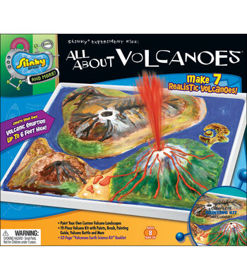 Poof Slinky All About Volcanoes Kit