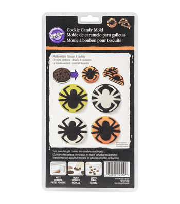 Wilton® Cookie Candy Mold-Spider