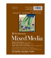 """Strathmore Mixed Media Paper Pad 6""""x8"""", , hi-res"""