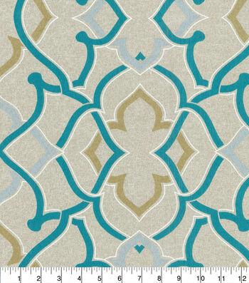 P/K Lifestyles Outdoor Print Fabric 54''-Aqua Linked