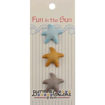 Fun In The Sun Buttons-Starfish