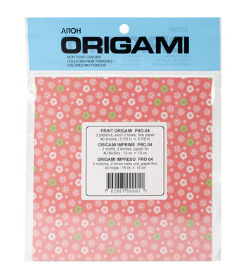 Aitoh Chiyogami Origami Paper 40/Pkg
