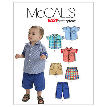 McCall's Infants Casual-M6016