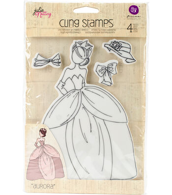 Aurora -mixed Med Doll Stamp