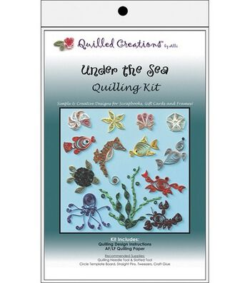 Quilled Creations Quilling Kits-Under The Sea