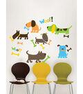 Wall Pops Puppy Love Wall Art Decal Kit, 27 Piece Set