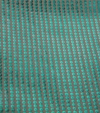 "Glitterbug Stretch Sequin Fabric 59""-Light Blue"