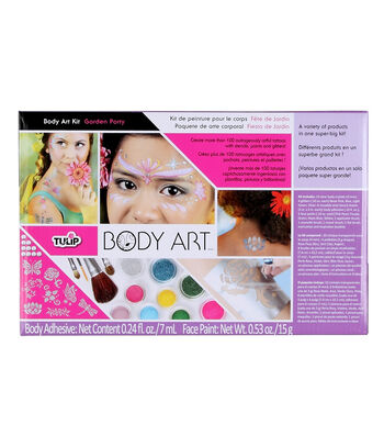 Tulip Body Art Garden Party Kit
