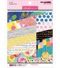 Bella Blvd Paper Pad 6\u0022X8\u0022-Make Your Mark w/Gold Foil