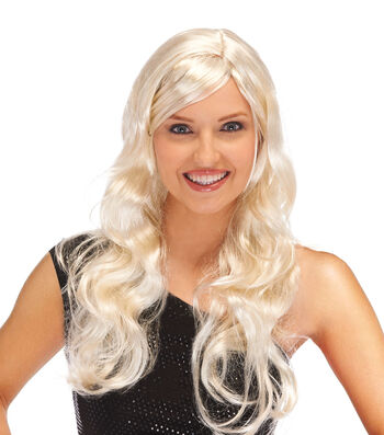 Maker's Halloween Blonde Supermodel Wig