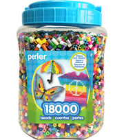 Perler Fun Fusion Bead Jar 18,000/Pkg-Multicolor, , hi-res
