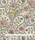 Kelly Ripa Home Upholstery Fabric 54\u0027\u0027-Oyster Happy Hour