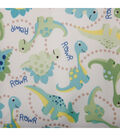 Babyville PUL Fabric-Dinos Green