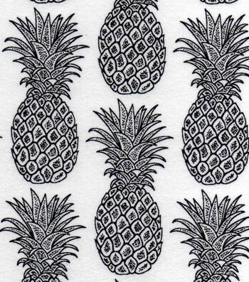 Snuggle Flannel Fabric 42''-Pineapples