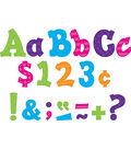 Multi Bright Sassy Solids 3\u0022 Letters